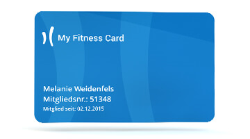 My Fitness Club Card Flex