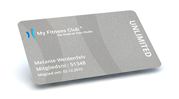 My Fitness Club Card Unlimited